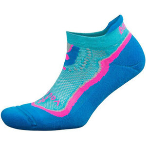 Balega You Are Enough Enduro No Show Running Socks Turquoise / Blue Radiance
