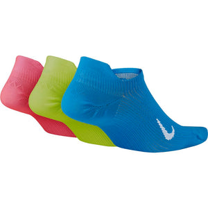 Nike Women's Everyday Plus Lightweight No-Show Socks 3 Pack Multi - achilles heel