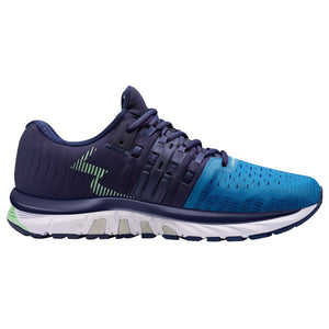 361 Degrees Women's Strata 4 Running Shoes Blue Sapphire / Peacoat - achilles heel