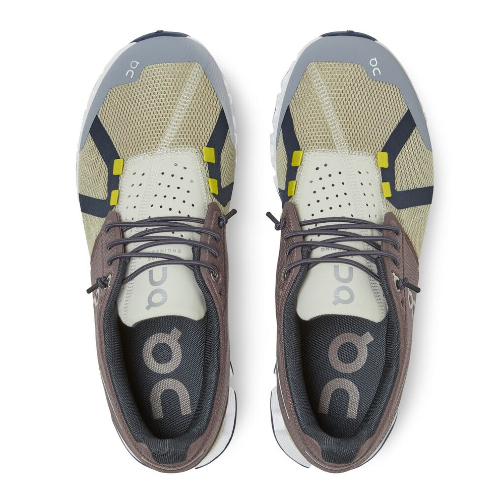 On Women's Cloud 70 | 30 Running Shoes Grape / Sand - achilles heel