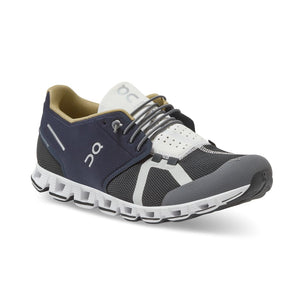 On Men's Cloud 70 | 30 Running Shoes Ink / Black - achilles heel