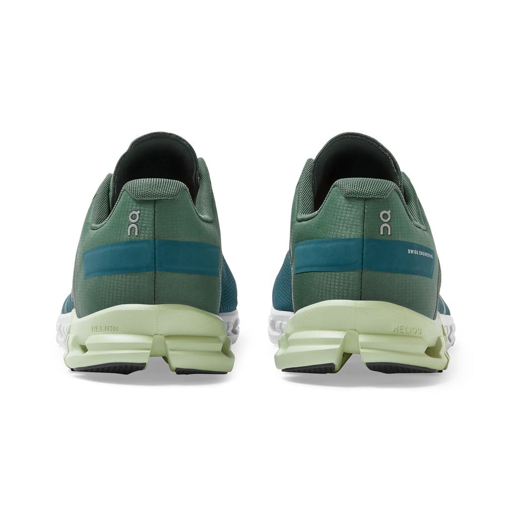 On Men's Cloudflow Running Shoes Sea / Petrol - achilles heel