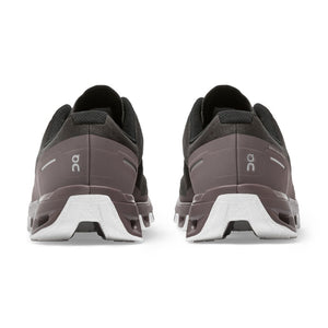 On Women's Cloudventure Trail Running Shoes Shadow / Grape - achilles heel