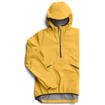 On Men's Waterproof Anorak Mustard - achilles heel