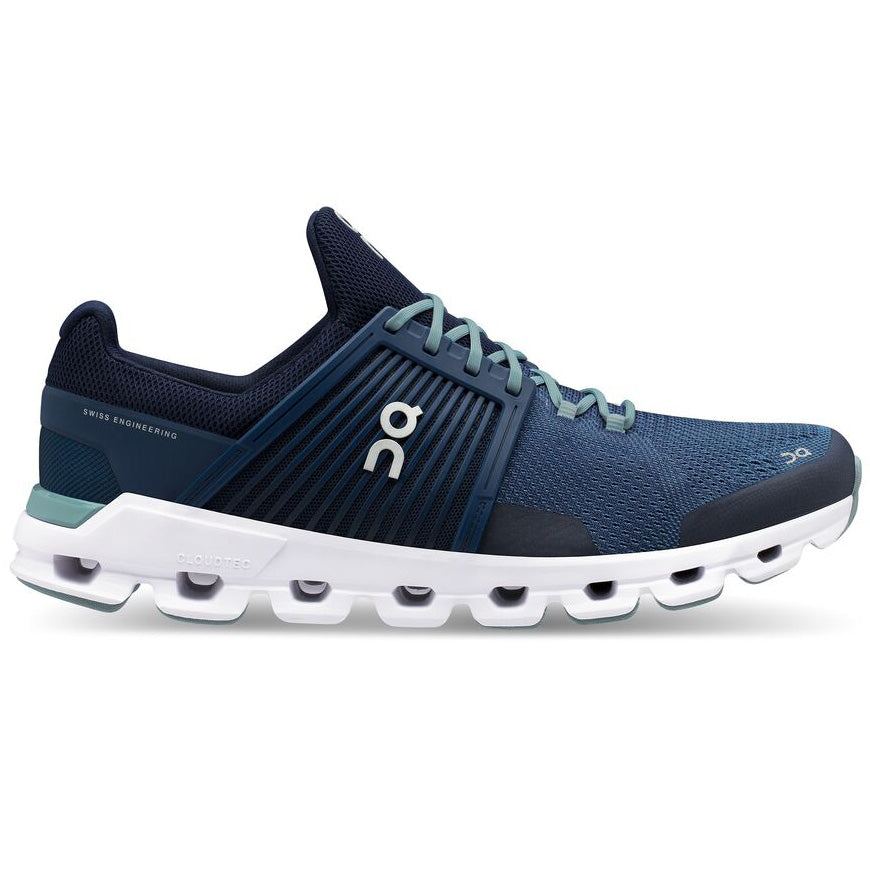On Men's CloudSwift Running Shoes Denim / Midnight