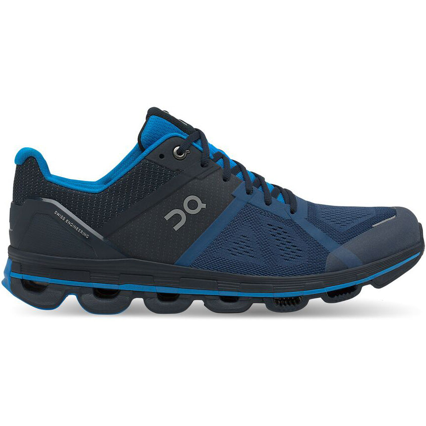 On Men's Cloudace Running Shoes Navy & Malibu