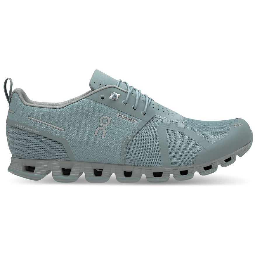 On Men's Cloud Waterproof Running Shoes Cobble / Lunar