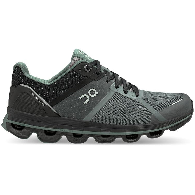 On Women's Cloudace Running Shoes Graphite / Olive