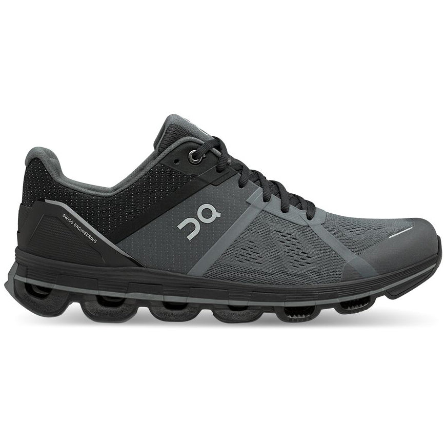 On Men's Cloudace Running Shoes Graphite / Rock