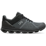 On Men's Cloudace Running Shoes Graphite / Rock - achilles heel