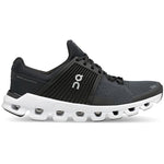 On Women's Cloudswift Running Shoes Black / Rock - achilles heel