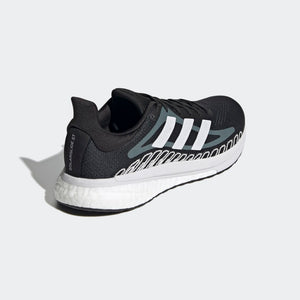 Adidas Women's Solar Glide ST 3 Running Shoes Core Black - achilles heel