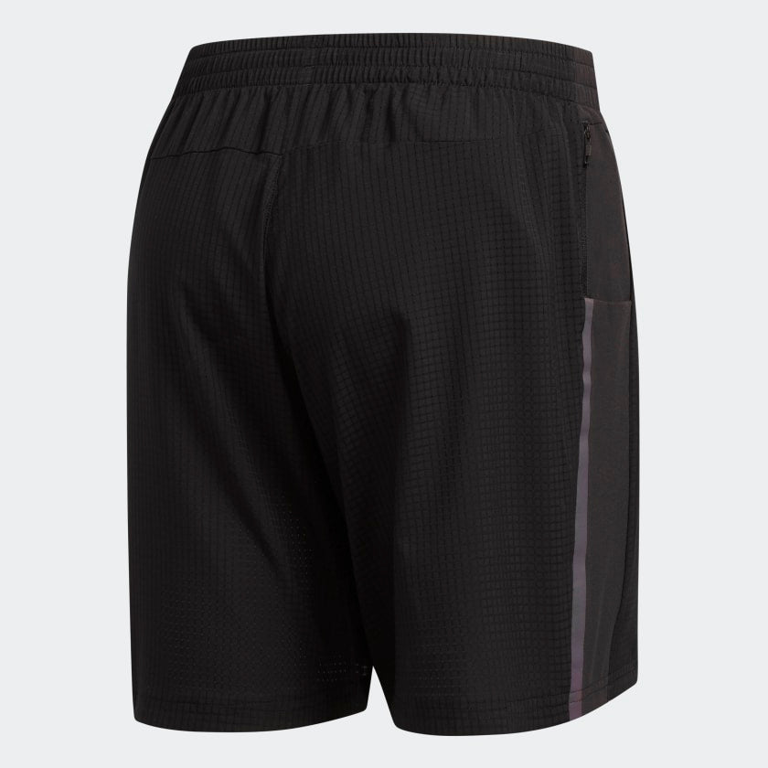 Adidas Men's Supernova Saturday 7 Inch Shorts Black - achilles heel