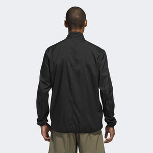 adidas Men's Own The Run Jacket Black - achilles heel