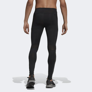 adidas Men's Supernova Tight Black - achilles heel