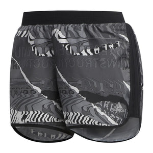 adidas Women's Marathon 20 City Shorts Black / Grey - achilles heel