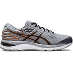 Asics Men's Gel Cumulus 21 Running Shoes Sheet Rock / Black - achilles heel