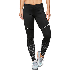 Asics Women's Lite-Show 2 Winter Tight Black - achilles heel
