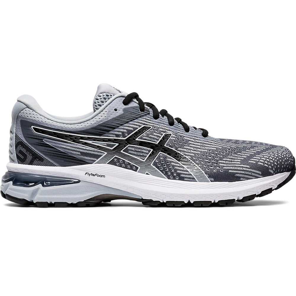 Asics Men's GT-2000 8 Running Shoes Piedmont Grey / Black