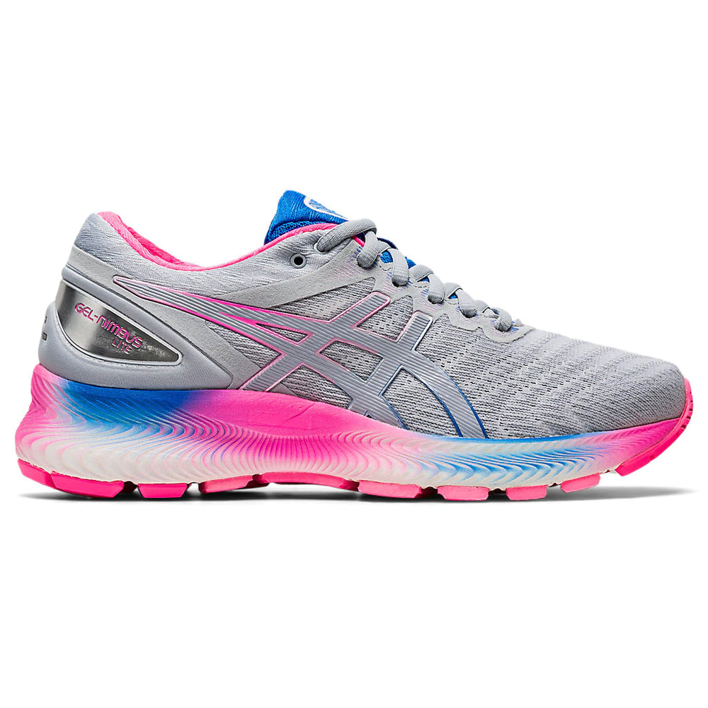 Asics Women's Gel-Nimbus Lite Running Shoes White / Piedmont Grey - achilles heel