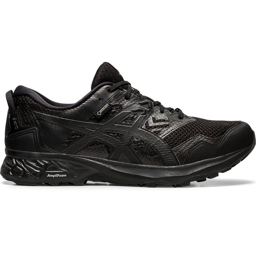 Asics Men's Gel-Sonoma 5 GORE-TEX Trail Running Shoes Black / Black - achilles heel