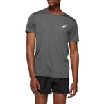 Asics Men's Silver Tee Dark Grey FA19