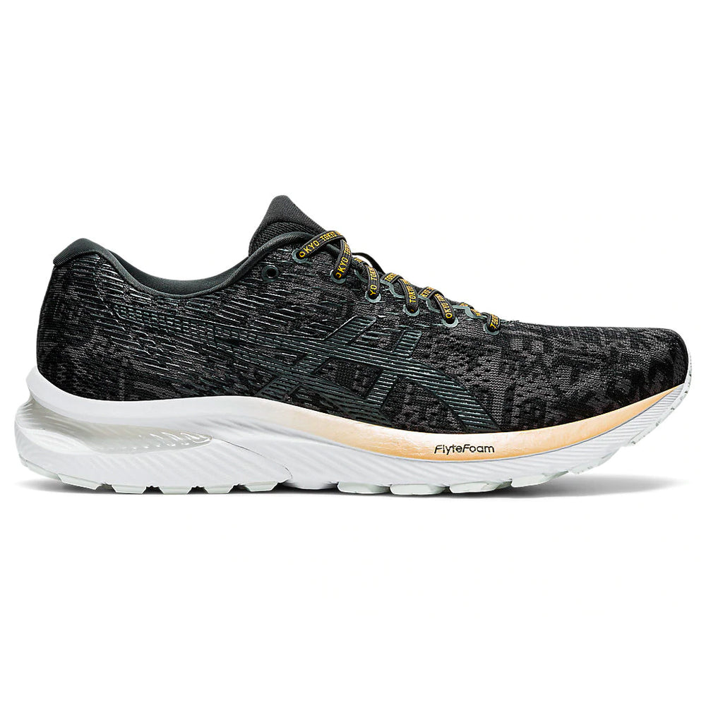 Asics Men's Gel-Cumulus 22 Edo Era Pack Running Shoes Black / Graphite Grey - achilles heel