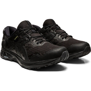 Asics Women's Gel-Sonoma 5 GORE-TEX Trail Running Shoes Black / Black - achilles heel