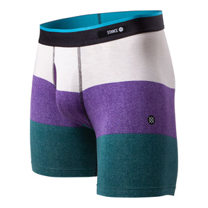 Stance Men's Merv Boxer Brief Purple - achilles heel