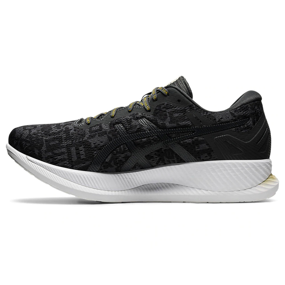 Asics Men's GlideRide Edo Era Pack Running Shoes Black / Graphite Grey - achilles heel