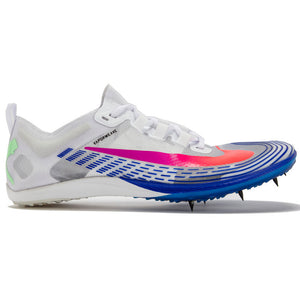 Nike Zoom Victory XC 5 Running Spikes White / Flash Crimson / Black - achilles heel