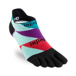 Injinji Run Lightweight No-Show Socks Levels - achilles heel