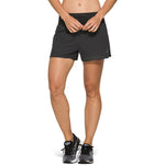 Asics Women's Ventilate 3.5 Inch 2 In 1 Short Graphite Grey - achilles heel
