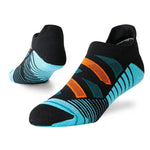 Stance Men's Ashbury Tab Training Socks Black - achilles heel