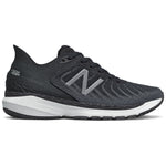 New Balance Women's 860v11 Running Shoes Black / White / Lead - achilles heel