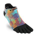 Injinji Women's Run Lightweight No-Show Socks Spill - achilles heel