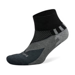 Balega Enduro V-Tech Running Socks Black / Charcoal - achilles heel