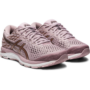 Asics Women's Gel Cumulus 21 Running Shoes Watershed Rose / Rose Gold - achilles heel
