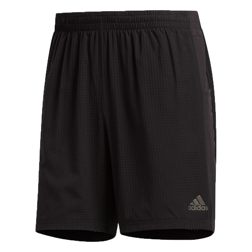 Adidas Men's Supernova Saturday 7 Inch Short Black - achilles heel