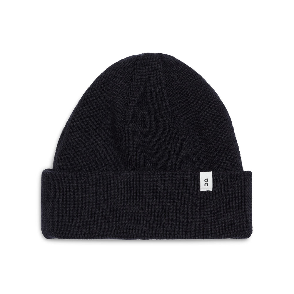 On Merino Beanie Black - achilles heel