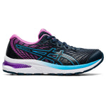 Asics Kids Gel Cumulus 22 GS Running Shoes French Blue / Digital Grape - achilles heel