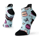 Stance Women's Barista Light Tab Run Socks Light Blue