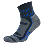 Balega Blister Resist Quarter Running Socks Ink / Cobalt - achilles heel