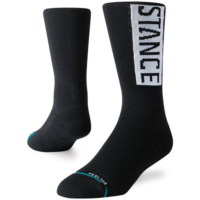 Stance Men's OG Crew Training Socks Black