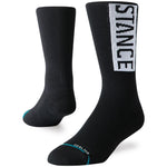 Stance Men's OG Crew Training Socks Black - achilles heel