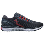 361 Degrees Men's Strata 3 Running Shoes Ebony / Risk Red - achilles heel