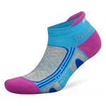 Balega Women's Enduro No Show Running Socks Etheral Blue - achilles heel