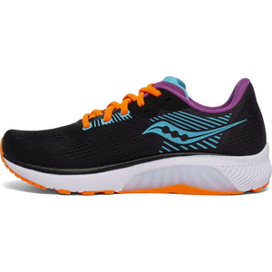 Saucony Women's Guide 14 Running Shoes Future Black - achilles heel