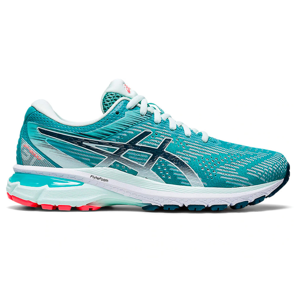 Asics Women's GT-2000 8 Running Shoes Techno Cyan / Magnetic - achilles heel