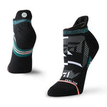 Stance Women's Corramos Tab Run Socks Black - achilles heel